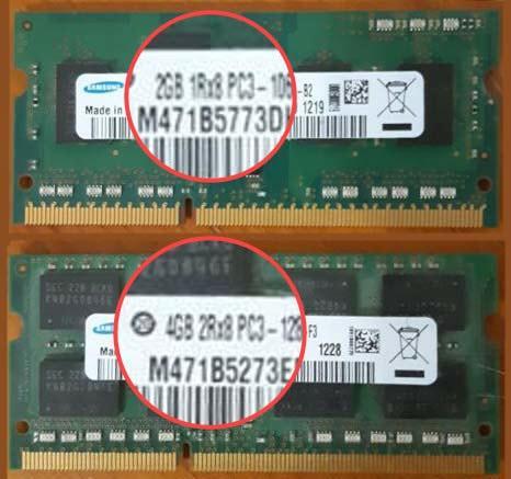 Модули памяти SODIMM PC3 1Rx8 и 2Rx8