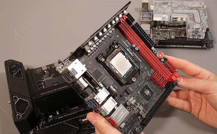 Mini-DTX motherboard 203х170 мм