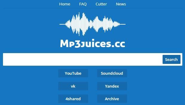 Распознавание мелодии по отрывку с помощью сервиса Mp3juices