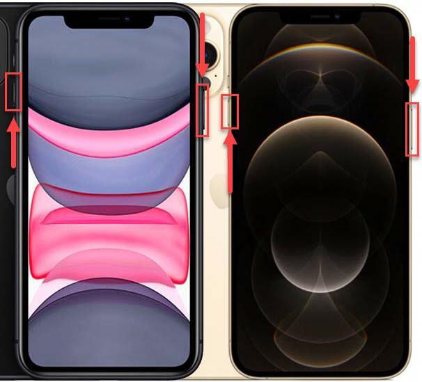Как создать скрин экрана на iPhone 11 и 12 Pro Max с функцией Face ID