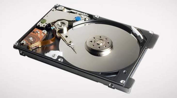 Открытый жесткий диск HDD