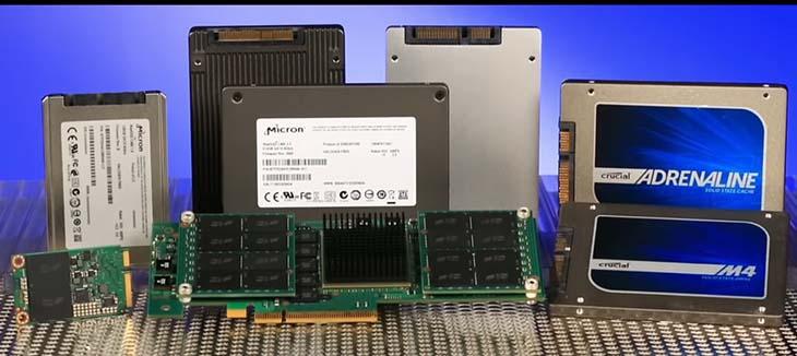 Различные модели SSD дисков