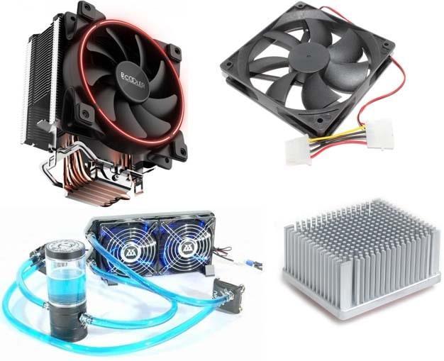Кулер, радиатор, вентилятор и водянка для ПК